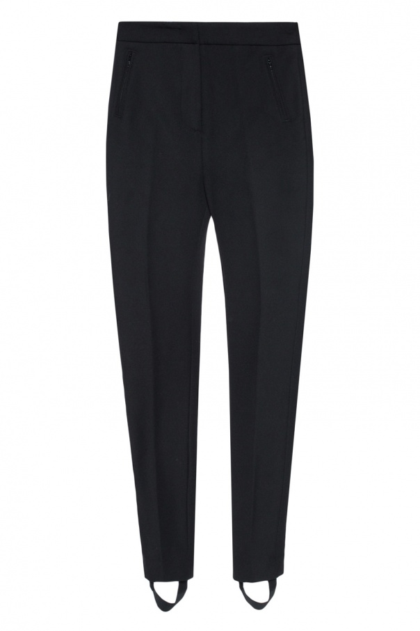High-waisted trousers od Moncler